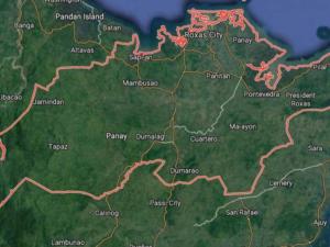 area map of Tumandok
